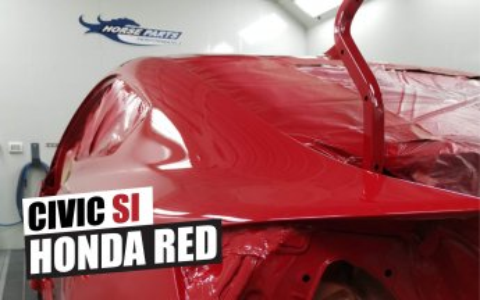 Honda Planchado y pintura Horse Parts